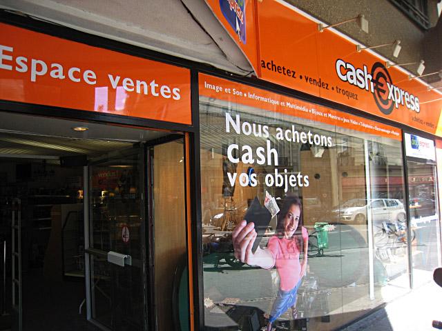 Nouvelle vitrine cash express mondeville the retail news - Cash express la valentine ...